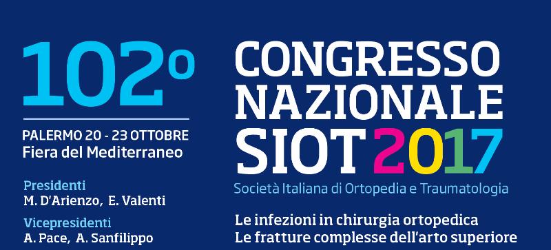 102° Congresso Nazionale SIOT
